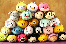 "3.5"" Disney Store Tsum Tsum Mini Stackable Plush Doll Toy Great Christmas Gift!"