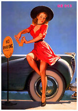 Pin-up Girl Print - Gil Elvgren pinups - sexy and classic art prints
