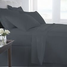100% COTTON Elephant Grey Bed Sheets OR Duvets OR Pillow Cases OR Pillow Shams
