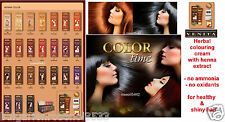 100% NATURAL HENNA COLOR CREAM HERBAL HAARFARBE DYE READY TO USE 75 ML best