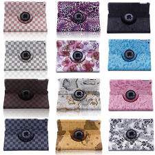 For 2014 Apple iPad Air2 360 Rotating Magnetic PU Leather Case Smart Cover Stand