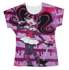 Monster High Draculaura Baby Kids Girl Boy T-shirt Tops 3-10Y #T010