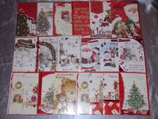 NIECE CHRISTMAS CARD TRADITIONAL CUTE INSERTED QUALITY  4 DESIGNS JUVENILE KIDS