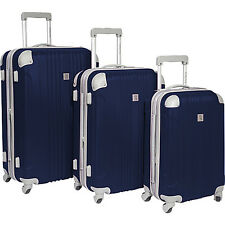 Beverly Hills Country Club Newport 3 Piece Hardside 5 Colors Hardside Luggage