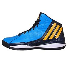 Adidas Ownthegame Blue Gold Black 2014 New Mens Basketball Shoes Sneakers