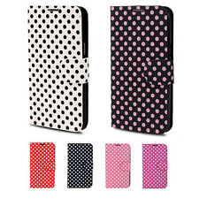 Spot Polka Dot Leather Skin Case Cover Protector For Samsung Galaxy Note 2 II 4G