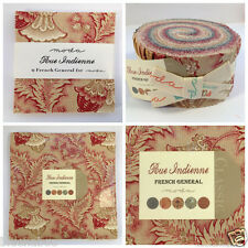 MODA Rue Indienne / french General 100 % cotton jelly roll layer cake charm pack