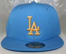 Los Angeles Dodgers in UCLA Colors/Air Force Blue New Era 59Fifty Fitted Hat