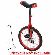 UNICYCLE FREE STANDING STAND IDEAL FOR HOME,GARAGE,SHED OR DISPLAY STAND