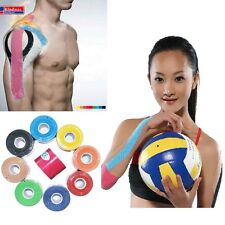 New Kinesiology Muscle Tape Sports Care Elastic Physio Therapeutic 5cmX5M 1Rolls