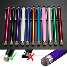 Metal Mesh Micro-Fibre Tip Touch Screen Stylus Pen For Smart CellPhone Tablet PC