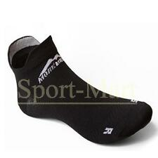Mens, Womens More Mile Socklet Black Cushioned Sports Running Trainers Socks