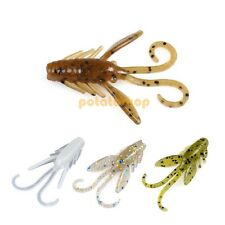 12X Pike Sea Coarse Fishing Lures Ultralight Soft Crayfish Nymph Bug 40mm 8SCC2*