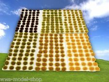 WWS 2 x 50 - 4mm Self Adhesive Static Grass Tufts Select Combination