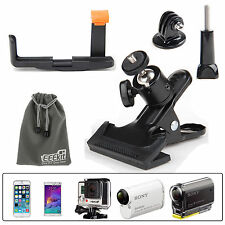 EEEKit Clip Clamp Mount Holder for iPhone 6 Plus Sony Cam HDR-AS15/20/30v/100v