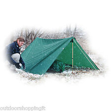 Equinox Egret Nylon Tarp - All Key Seams Are Double Stitched, Brass Grommets