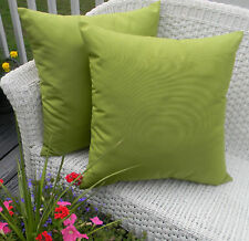 """Set of 2- 24"""" x 24"""" Indoor Outdoor Decorative Throw Pillows, Choose Solid Colors"""