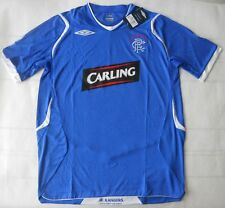 Authentic 2008-09 Official Glasgow Rangers Home Soccer Jersey