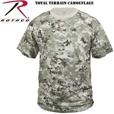 Total Terrain Camouflage Tactical Military Army Short Sleeve T-Shirt 5471