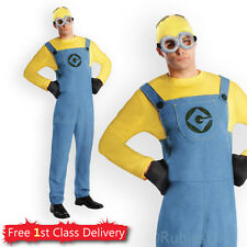 Adult Minion Fancy Dress Couples Costumes Ladies Mens Licensed Despicable Me