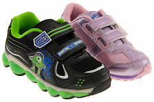 Boys Girls Disney Trainers Monsters Inc Casual Fashion Size 9-3