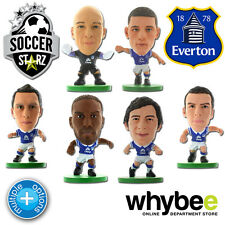 EVERTON FC SOCCERSTARZ FOOTBALL MODEL FIGURES -OFFICIAL THE TOFFEES SOCCER STARZ