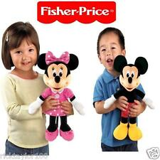 New Fisher Price Sing & Giggle Mickey / Minnie Mouse Hug & sing the Hot Dog song