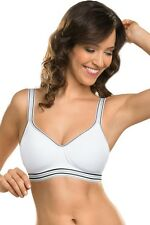 Naturana Non-wired Padded Sports Bra *Seamless Cups* 5149 in 34-42 A-D 2 Colours