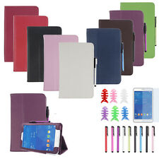 Leather Case Stand Cover For Samsung Galaxy Tab 3 7Inch Tablet SM-T110 Free Ship