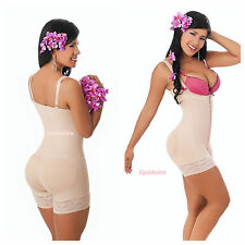 Faja/Girdle Colombiana Salome 214 Body shaper with Zipper/ Cinturilla con Cierre