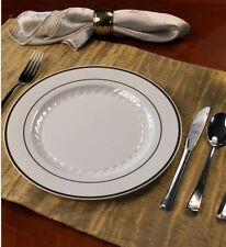 White/Silver Full Table Settings Plates-Cups-Reflection Cutlery Wedding Special