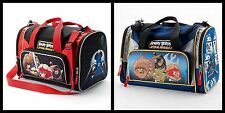 Angry Birds Space Duffle Sports Bag Travel Overnight Star Wars Vader Yoda NWT