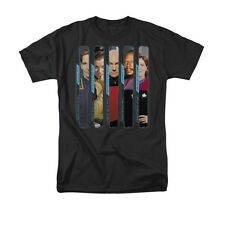 STAR TREK: The Captains - Archer, Kirk, Picard, Sisko & Janeway -- Adult T-Shirt