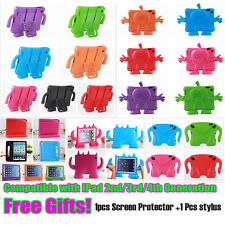 EVA safe Foam Children Kid shockproof Stand Case cover for iPad 2/3/4 generation