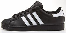 adidas Originals superstar 2 II leather trainers black G17067