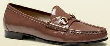 GUCCI FRAME 1953 CLASSIC OLD MAUVE SEXY LOAFERS MOCCASINS EU 37.5 38.5 39.5