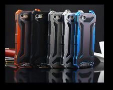 Waterproof Shockproof Aluminum Gorilla Glass Metal Cover Case for iPhone 6 5S 5