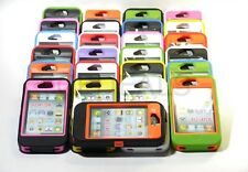HEAVY DUTY IMPACT HARD CASE W/ BUILT IN SCREEN PROTECTOR FOR iPHONE 4 4S PHONE