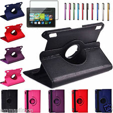 "RUBAN PU Leather Case Cover Stand For Amazon Kindle Fire 7"" Kindle HD 7"" HDX 7"""