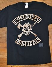 "AMC's The Walking Dead ""SURVIVOR!"" Men's T-Shirt Officially Licensed Tee"