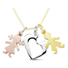 18K GOLD PLATED ON 925 STERLING SILVER CHARMS FRIENDS & LOVE FOREVER SETS