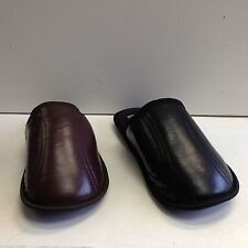 New Men's House Slippers #1548 Classic Comfort Soft Padded Loafer Sz 7/8 - 13
