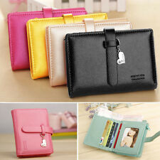 New Fashion Lady Women Lovely Purse Clutch Wallet Short Small Bag PU Card Holder