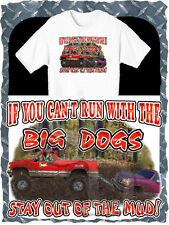 CHEVROLET 4X4 TRUCK PULLS FORD BIG DOG MUD BOGGING T-SHIRT NEW IN SIZE SMALL-4XL