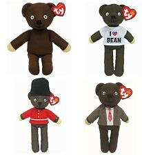 Mr Bean 10 inch Teddy Bear - Official TY Beanie Babies - Choose your Soft Toy