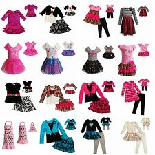 Dollie & Me Girl 2-14 and Doll Matching Dress Skirt Outfit Clothes American Girl