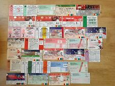 Wales Used Rugby Tickets 1973 - 2013