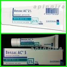 Benzac AC Gel 2.5%-5% Peroxide Benzoyl Acne Treatment Water Based Gel