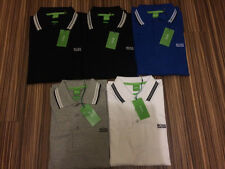 MENS HUGO BOSS LONG SLEEVE REGULAR FIT POLO SHIRTS NEW WITH TAGS