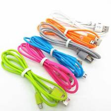 3ft LED Light Up Micro USB Cable Data Sync Charger  Cord  For Samsung S4 S5. HTC